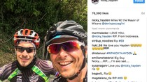 Senyum Terakhir Nicky Hayden di Instagram Banjir Ucapan Duka