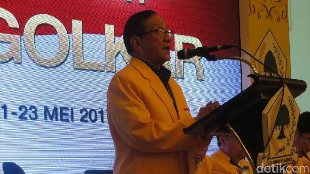 Akbar Tandjung Minta Golkar Buktikan Kesolidan di Pilkada 2018