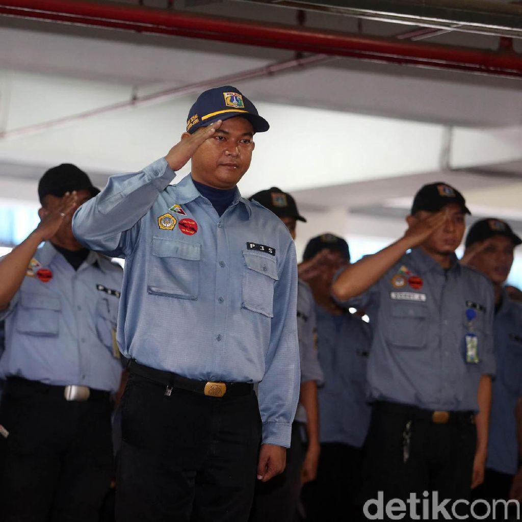 Dinsos DKI Gelar Apel untuk Antisipasi Gepeng