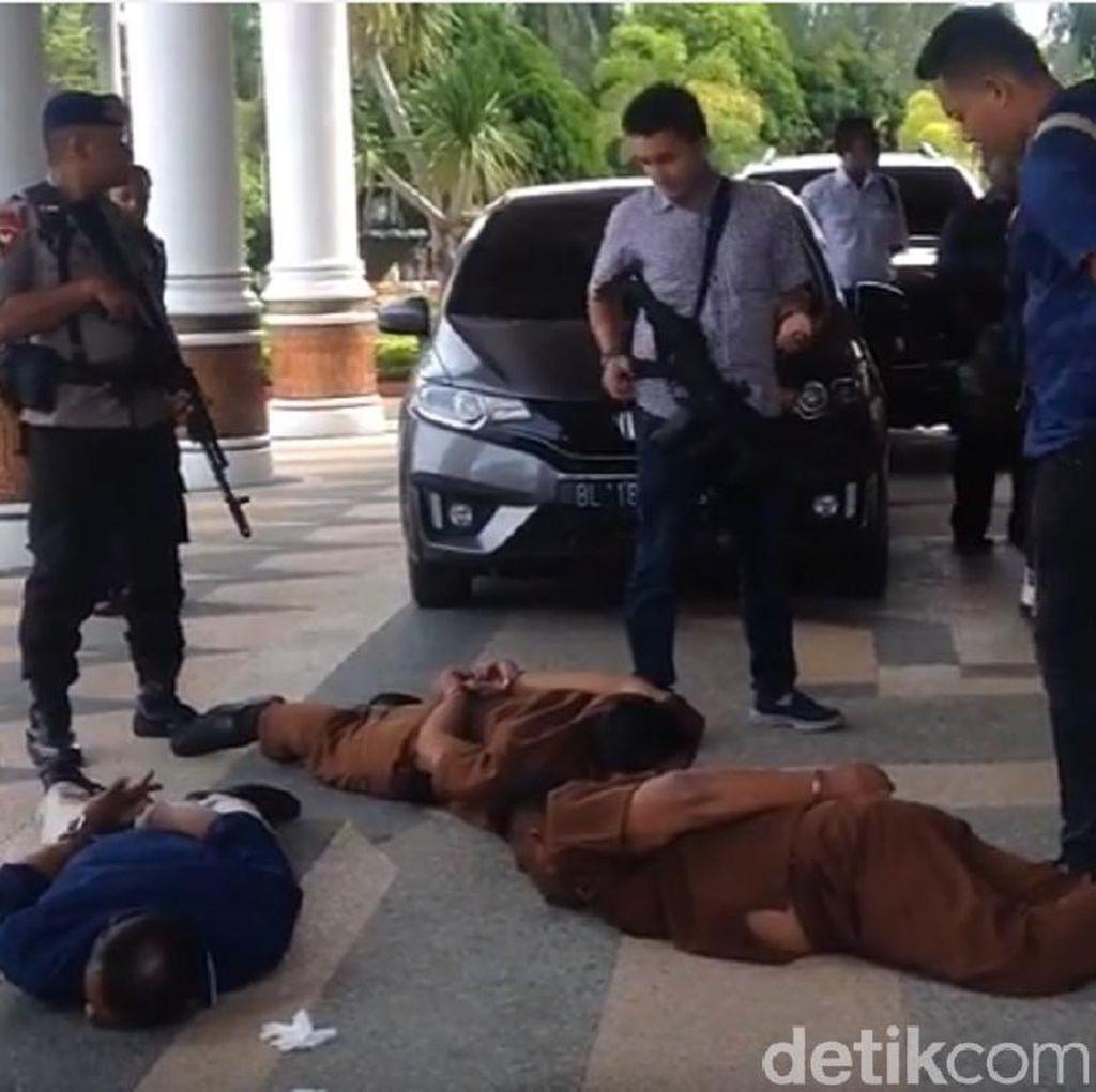 3 Pria Dibekuk Polisi karena Ancam dan Peras Ajudan Wagub Aceh
