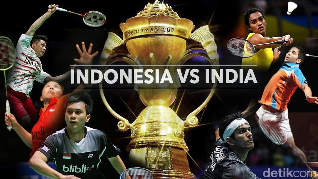 Live Report: Indonesia vs India