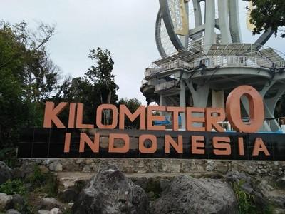 Cantiknya Ujung Barat Indonesia, Tugu Nol Kilometer Sabang