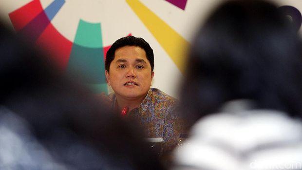 Erick Thohir, ketua KOI