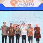 Parade UMKM BRI Hadir di Kota Malang