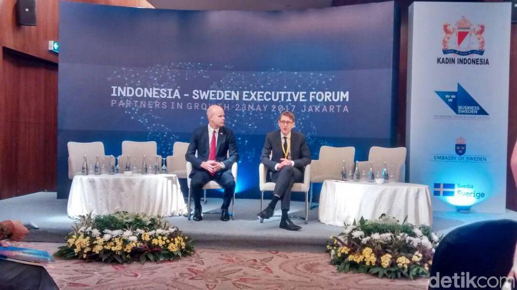 Pengusaha Swedia: Indonesia Memiliki Posisi Kuat di Dunia