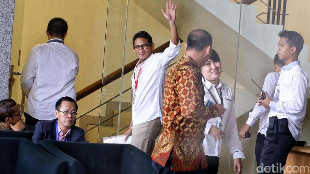 Periksa Sandiaga, KPK Telusuri Kaitan Proyek PT DGI dan Nazaruddin