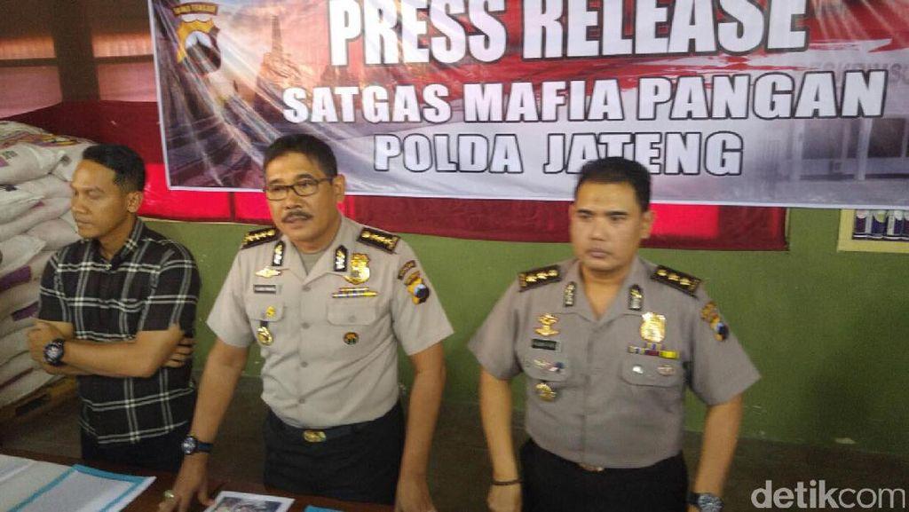 Satgas Pangan Polda Jateng Sita 39 Ton Gula Tanpa Label SNI