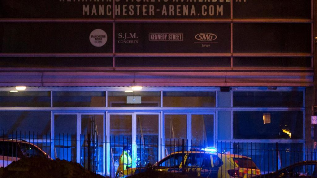 Titik Ledakan Berada di Luar Manchester Arena