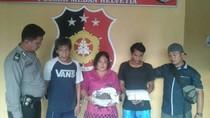 Taruh 2 Kg Ganja di Tong Sampah Rutan, Rosmaini Ditangkap Polisi