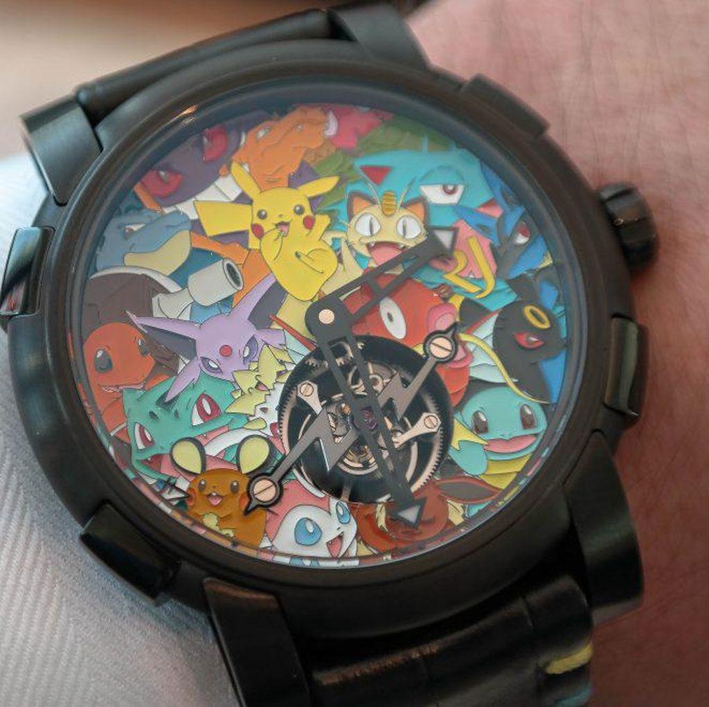 Jam Tangan Pokemon Ini Harganya Setara Rumah Mewah