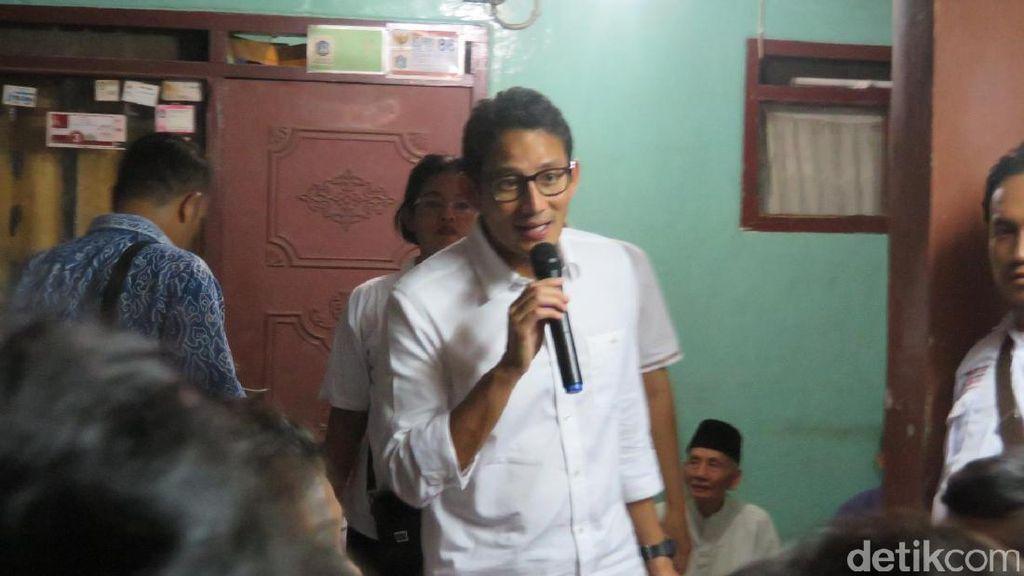 Sandiaga akan Kembali ke 267 Lokasi Kampanyenya hingga Oktober