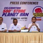 Planet Ban Resmikan Cabang ke-500, Kuasai 80% Pasar Ban Roda Dua