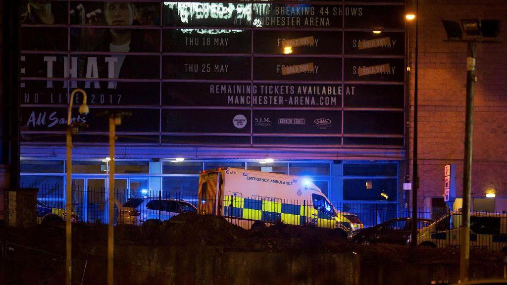 Ledakan di Manchester Arena, Anak-anak Berteriak dan Berlarian