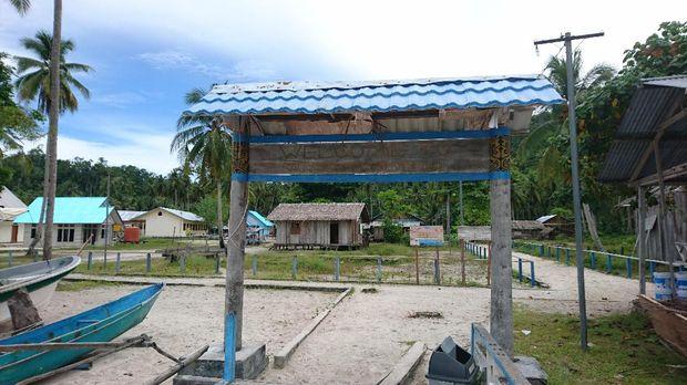 Suasana desa yang asri (Masaul/detikTravel)