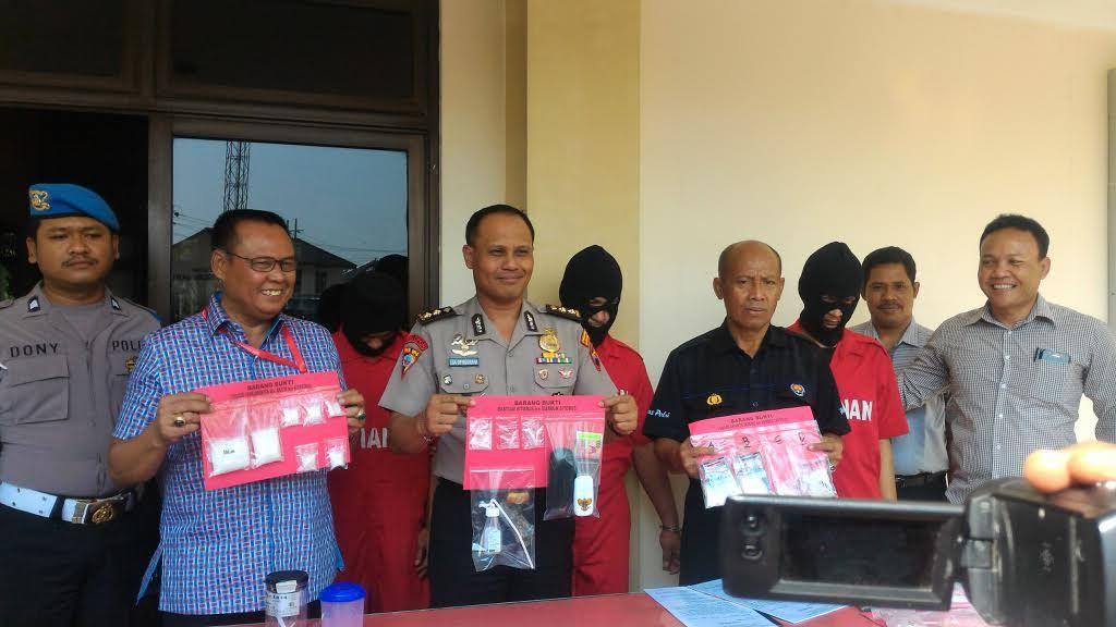 Polrestabes Semarang Ungkap Jaringan Narkoba dari LP