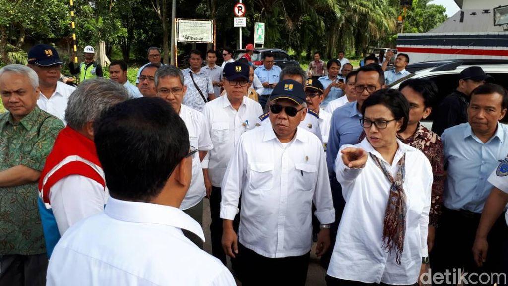 3 Menteri Jokowi Pantau LRT Palembang, Kepala Proyek: Maaf Saya Gugup