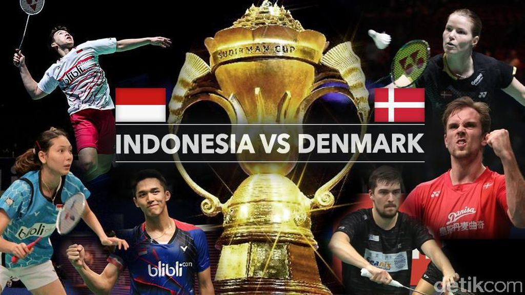 Live Report: Indonesia vs Denmark
