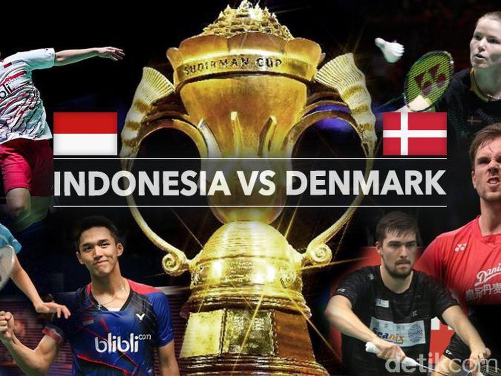Live Report: Indonesia vs Denmark