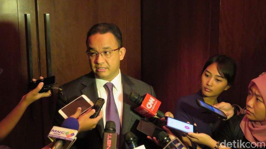 Anies Jamin Kebijakan di DKI Selaras dengan Pemerintah Pusat