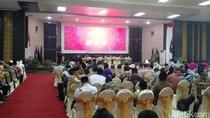 Jokowi Hadiri Pengukuhan Guru Besar Ekonomi Syariah KH Maruf Amin