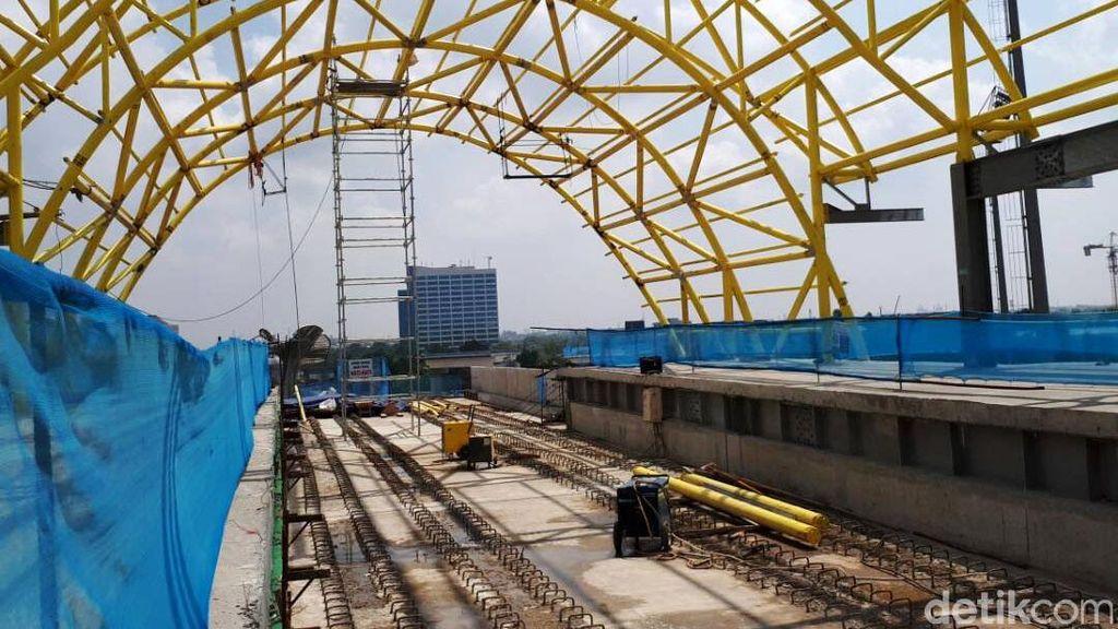 LRT Palembang Segera Rampung, Sri Mulyani: Kami Makin Semangat