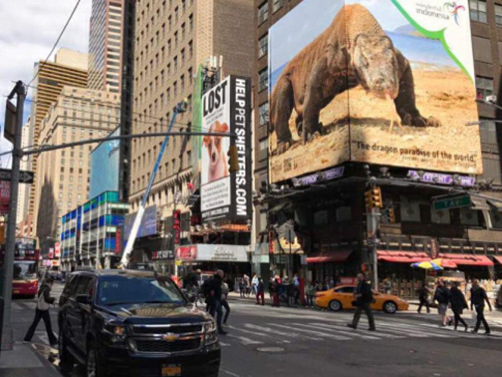 Sambut Barack Obama, Kemenpar Siap Promosi Pariwisata di Times Square