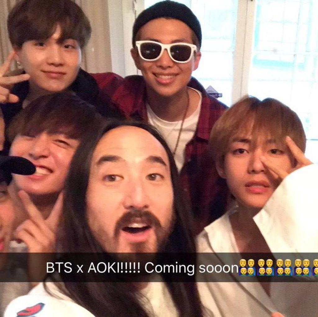 Tak Sabar Menanti Kolaborasi BTS dan Steve Aoki