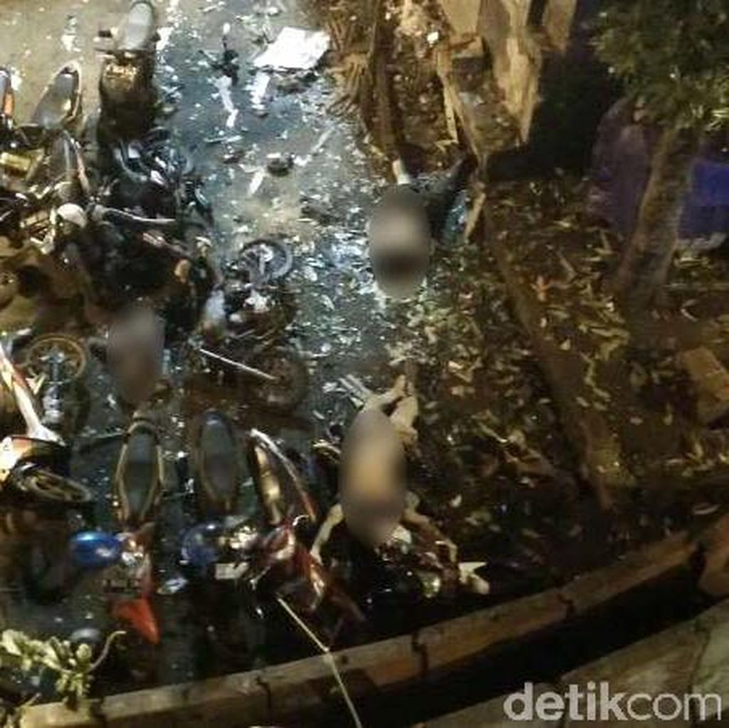 Polisi yang Meninggal Akibat Bom Melayu Bernama Brigadir Taufan