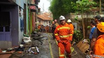 Sembilan Rumah Kontrakan di Dago Habis Terbakar