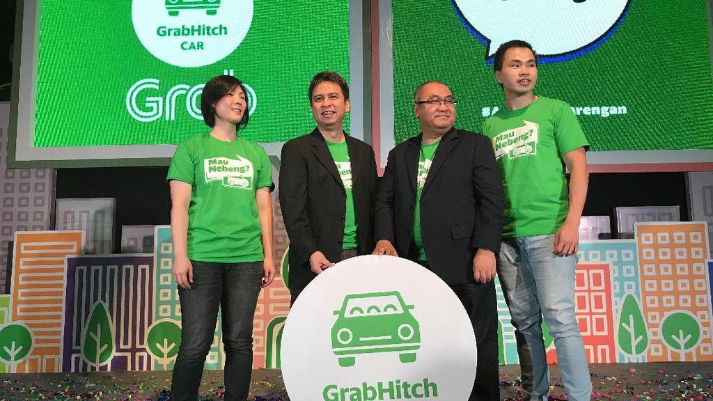 Fitur Nebeng Mobil Grab Hadir di Indonesia
