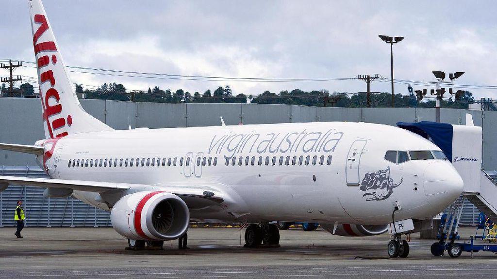 Traveler di Australia Dievakuasi, Gara-gara Catatan di Toilet Pesawat
