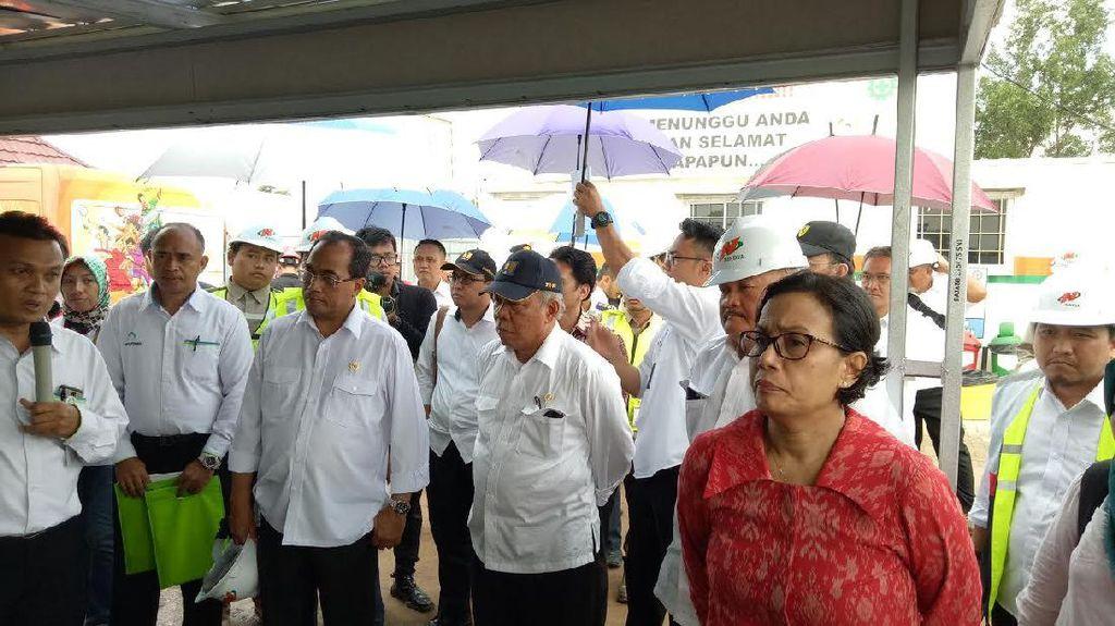 Sri Mulyani Cecar Pembangunan Rusunami di Jakabaring Sport City