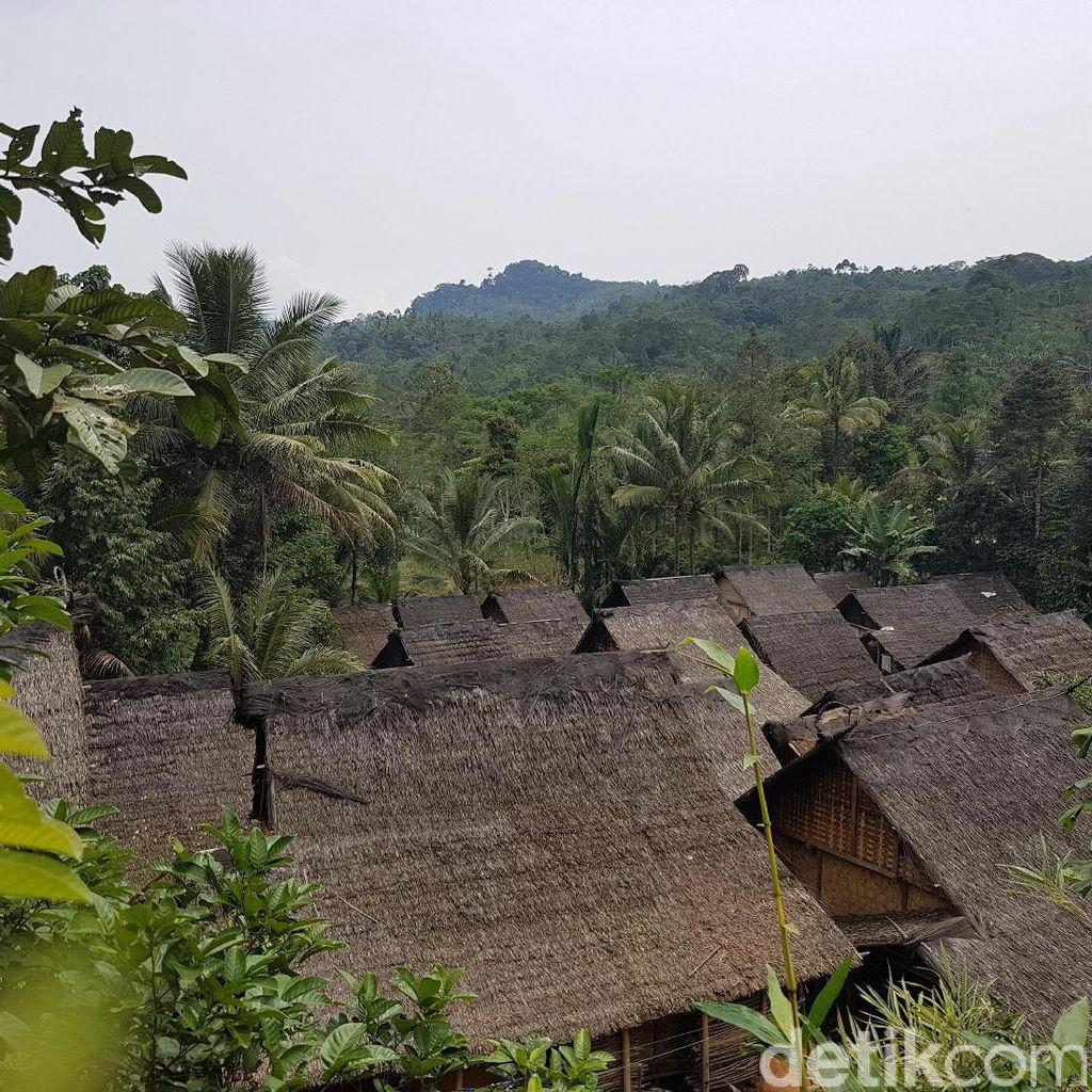 Asal Api di Kebakaran 84 Rumah Adat Baduy Luar dari Tungku Masak