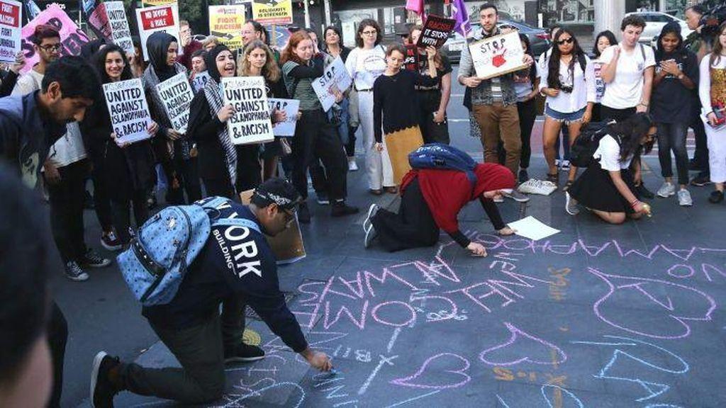 Mahasiswa Sydney Kecam Pemukulan 4 Wanita Berjilbab