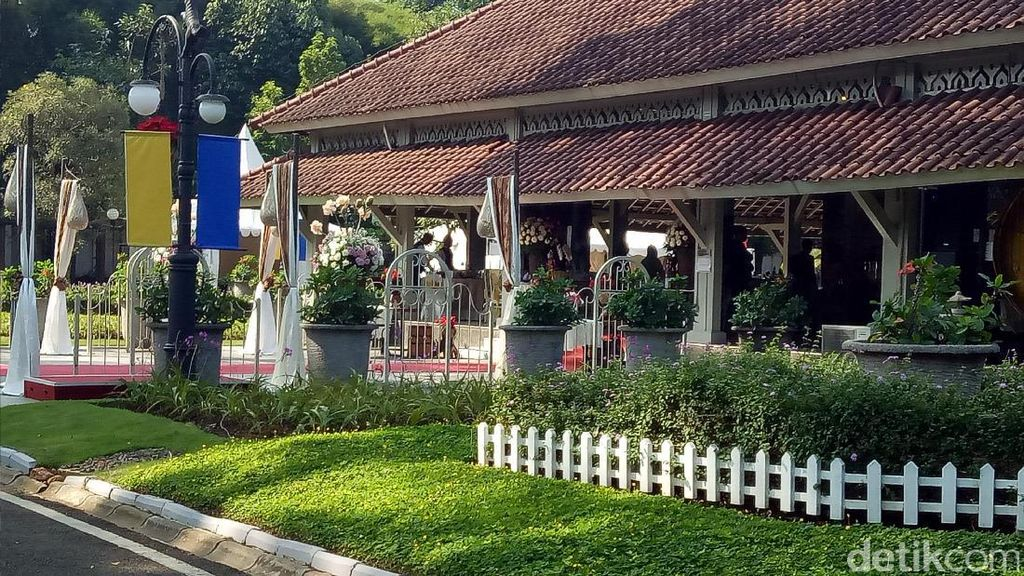 Rumah Dinas Ridwan Kamil Bersiap Sambut Raja dan Ratu Swedia