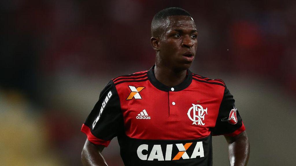 Ditebus Madrid 45 Juta Euro, Siapa Sih Vinicius Junior?