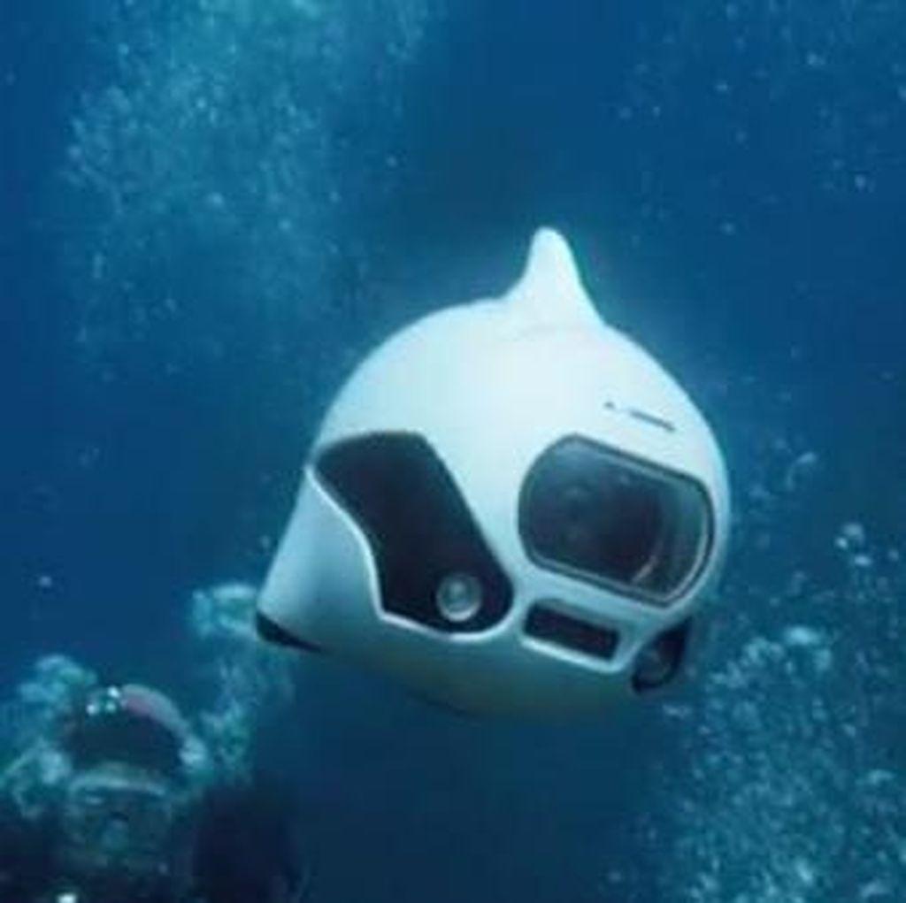 Drone Ini Bisa Beraksi di Bawah Laut