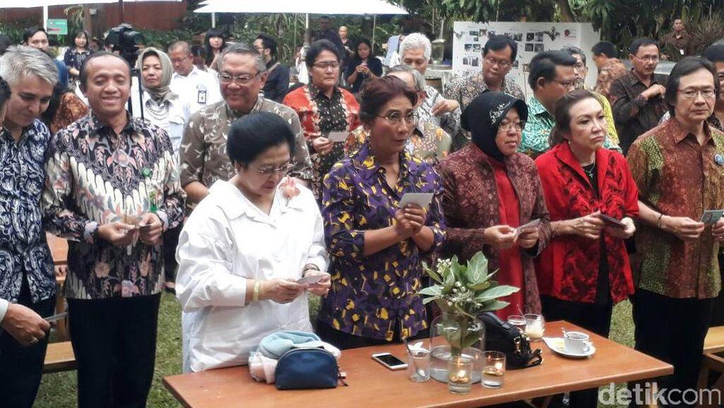 Megawati: Saya itu Tak Hanya Urus Politik, Tapi Keindahan Juga