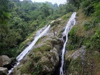 Liburan di Sekitar Jakarta, Coba ke Air Terjun Cibadak Bogor