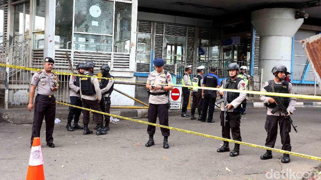 JK: Teroris Lakukan Pembalasan ke Polisi