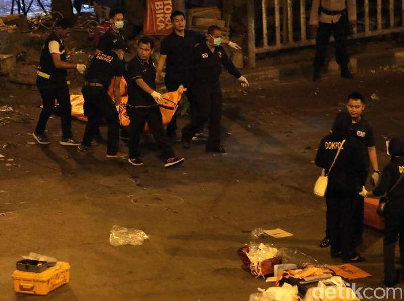 2 Polisi Korban Bom Kampung Melayu Masih Dirawat di RS Polri