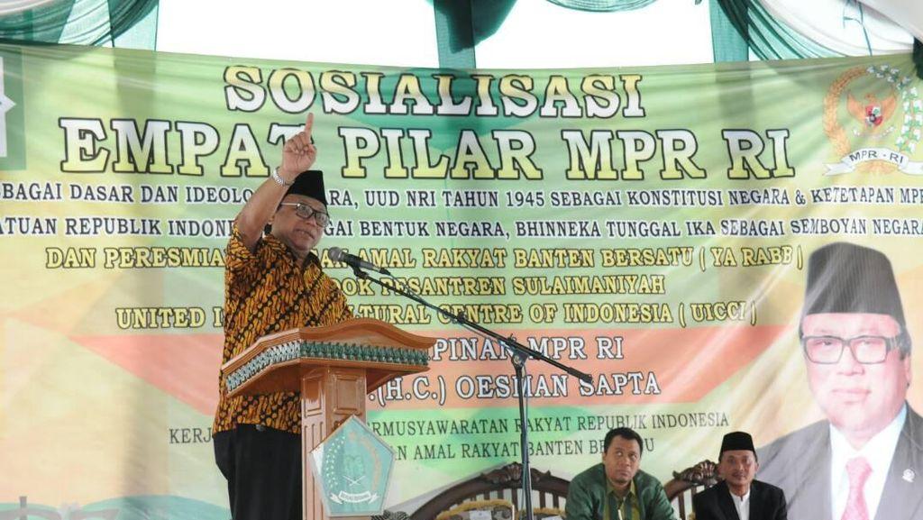 Wakil Ketua MPR: Kita Jangan Mau Diadu Domba