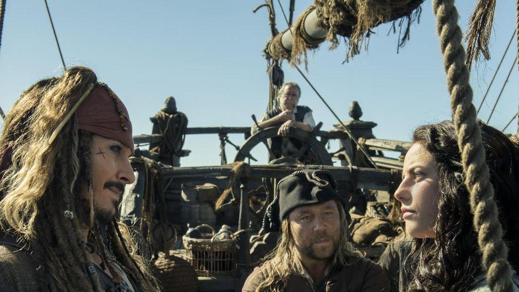 Kapten Jack Sparrow Kembali Bertualang di Pirates of the Caribbean: Salazars Revenge