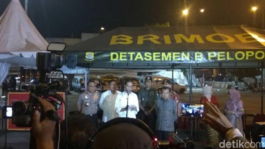 Jokowi di Lokasi Bom: Selesaikan Segera UU Antiterorisme