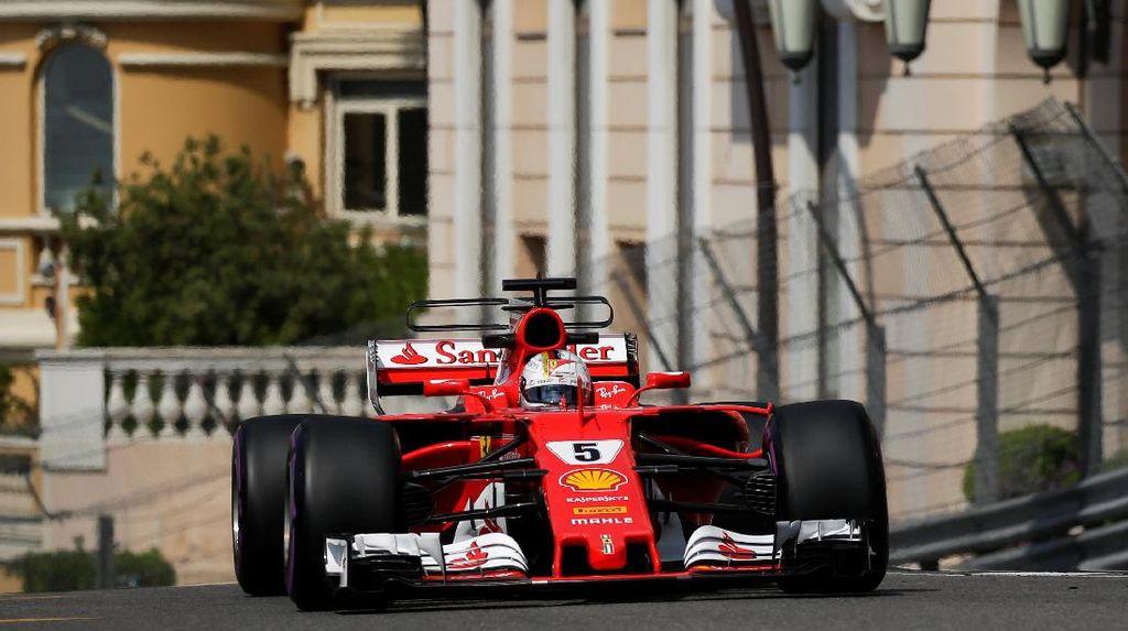 Vettel Kuasai Sesi Latihan Kedua