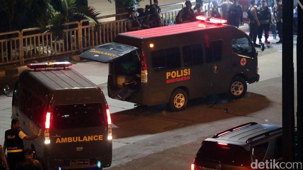 3 Anggota Polri Korban Bom Kampung Melayu Dibawa ke Rumah Duka
