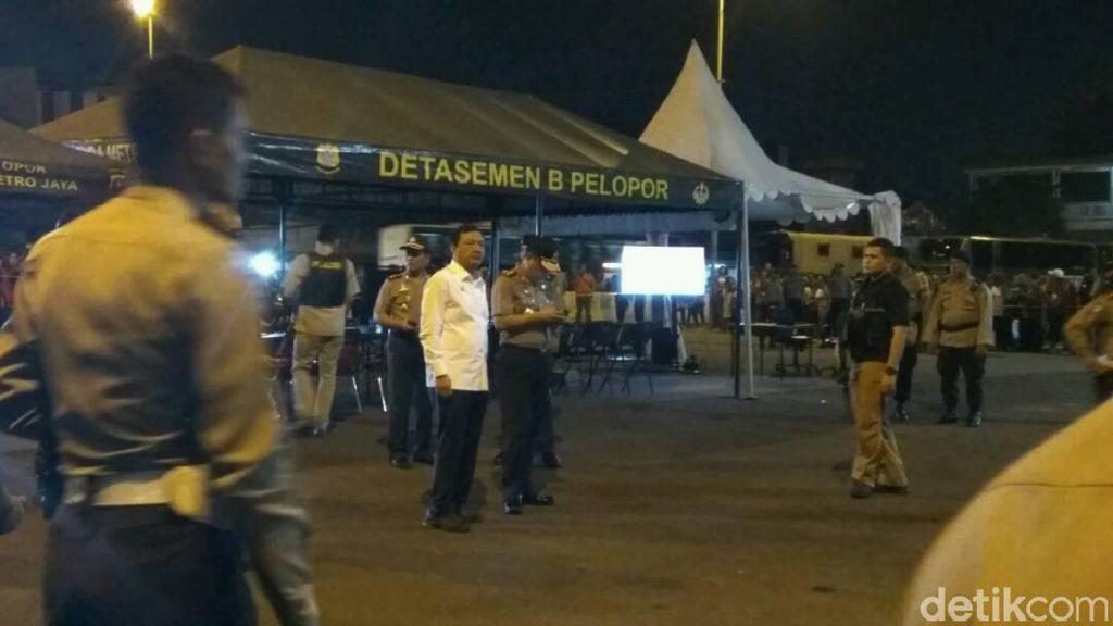 Ditemani Wakapolri, Kepala BIN Datangi Lokasi Bom Kampung Melayu