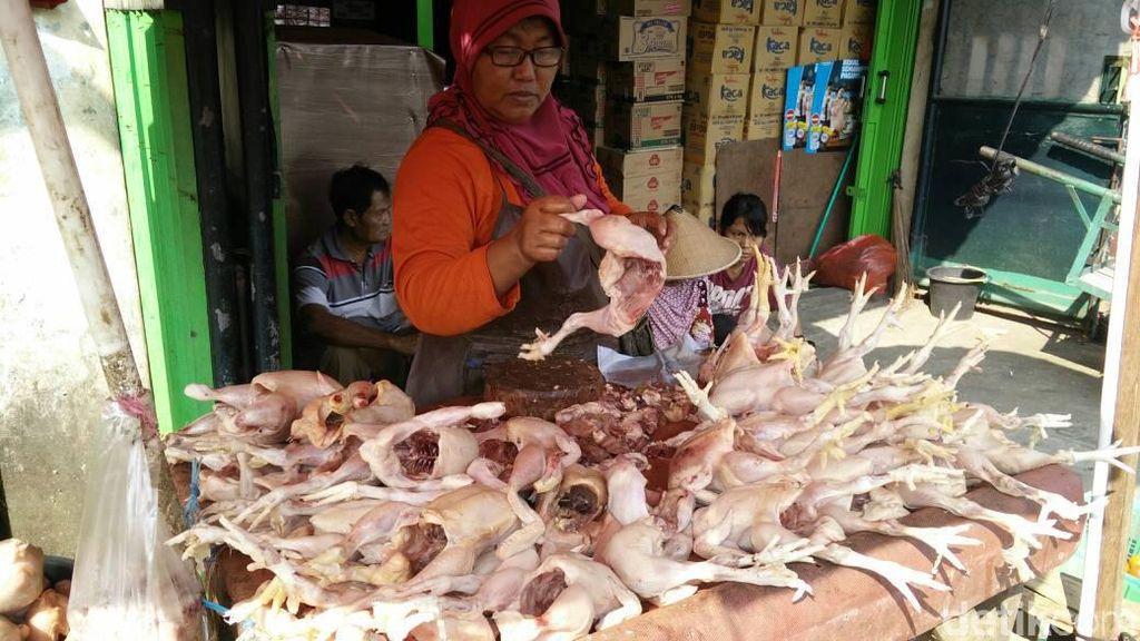 Harga Ikan dan Ayam Stabil, Daging Beku Naik