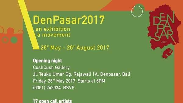 Angkat Sisi Kreatif Denpasar, Pameran DenPasar 2017 Gaet 17 Seniman