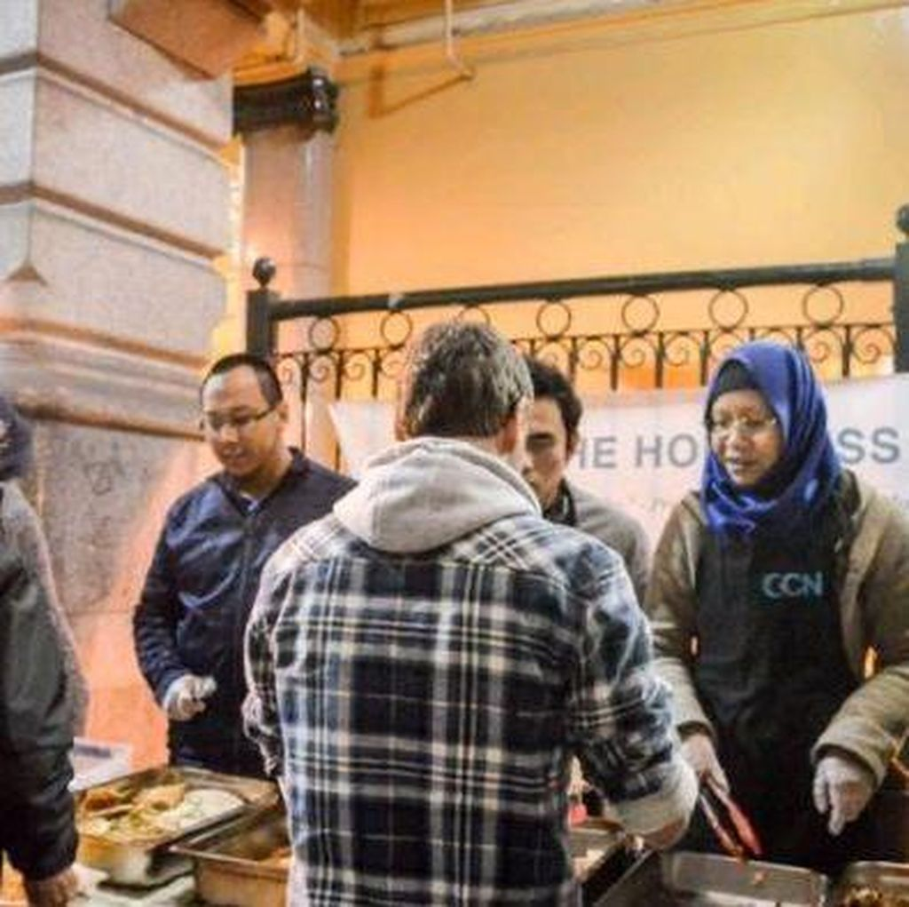 Muslim Indonesia Bantu Tunawisma di Melbourne